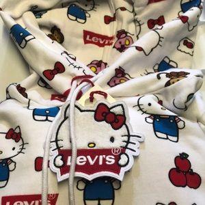 Hello Kitty Levi's collaboration Hoodie